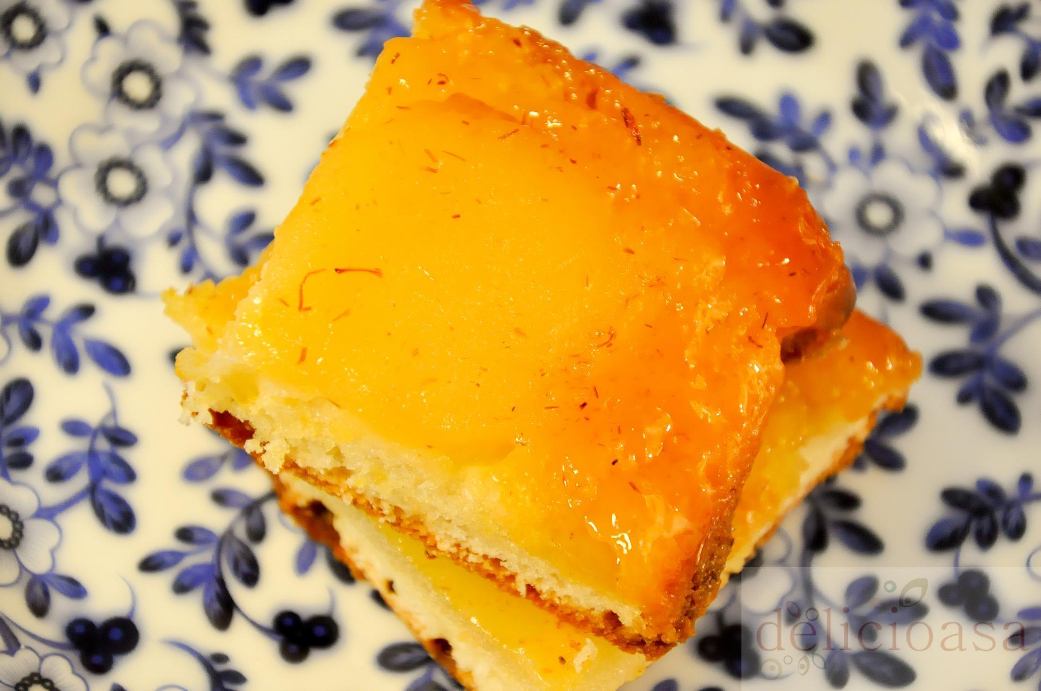 Prajitura cu pere caramelizate si sofran delicioasa for Cu ci na roma