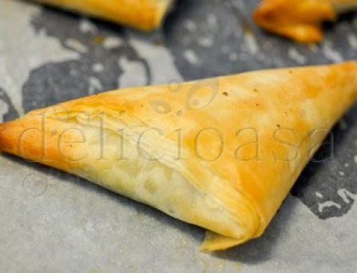 Spanakopita – placinta cu spanac, feta & nucsoara