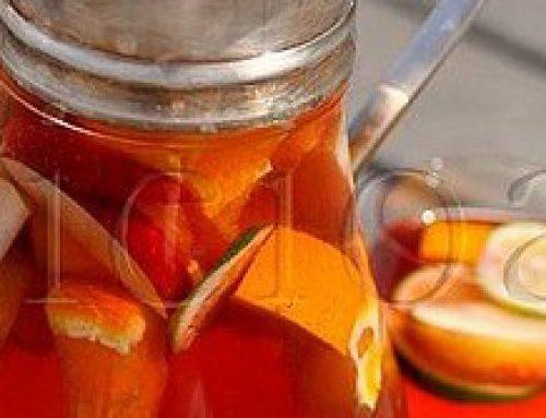 Kids Sangria – ice tea cu fructe proaspete