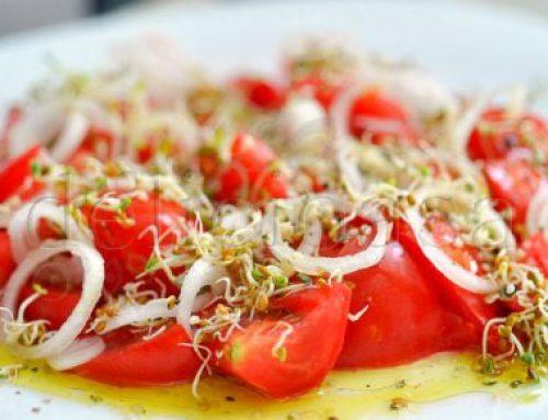 Salata de rosii cu trifoi