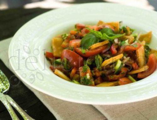 Salata Fatoush cu Za'atar