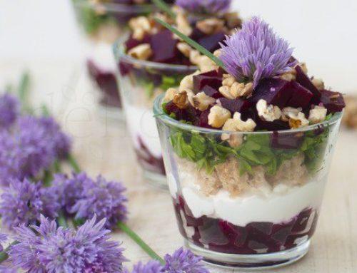 Verine cu sfecla & branza de chevre si o revista de poveste – What Liberty Ate – food with love (editia 2)