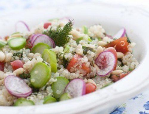 Salata de quinoa & cateva ganduri…